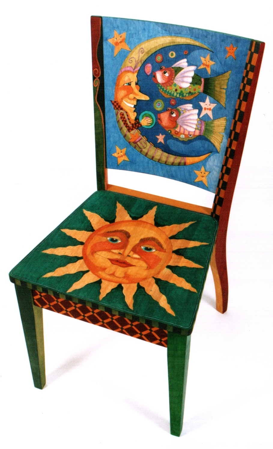 Painted Art Chairs